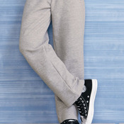 Heavy Blend Youth Open Bottom Sweatpants