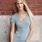 Women's Vintage Burnout V-Neck Favorite T-Shirt