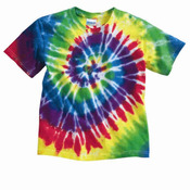 Youth Multi-Color Spiral T-Shirt