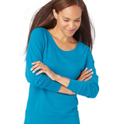 Women's French Terry Slouchy Pullover