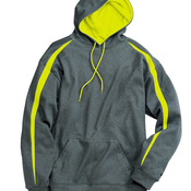 Pro Heather Fusion Performance Fleece Hooded Sweatshirt