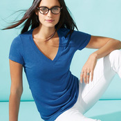 Women's Triblend Deep V