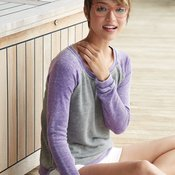 Women's Zen Fleece Raglan Sleeve Crewneck Sweatshirt
