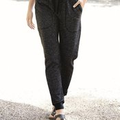 Women's Glitter French Terry Fleece Joggers