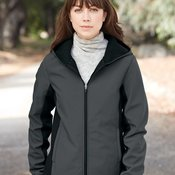 Women's Hooded Soft Shell Jacket