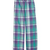 Youth Team Pride Fashion Flannel Pants with Pockets