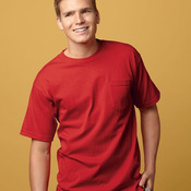USA-Made Short Sleeve T-Shirt with a Pocket