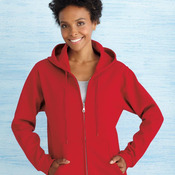 Heavy Blend Women's Full-Zip Hooded Sweatshirt