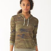 Women's Eco-Jersey™ Classic Hooded Pullover T-Shirt